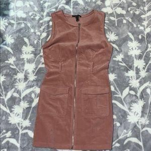 Cute suede dress